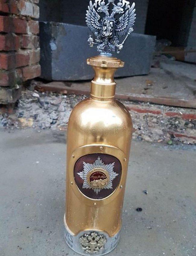 В Дании нашлась самая дорогая бутылка водки в мире - ПУСТАЯ!!!