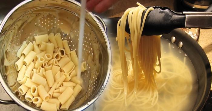 Секрет шеф-поваров - почему не нужно выливать воду из-под макарон