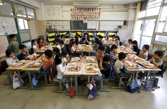Школьный обед в Японии — обязательная составляющая образования