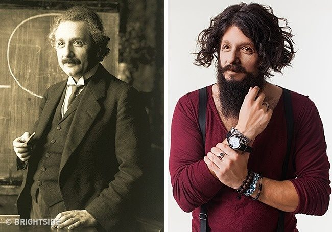 Как бы сейчас выглядели известные исторические личности