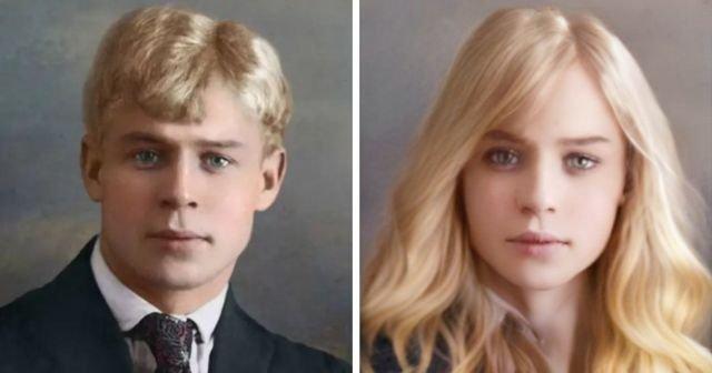Как выглядели бы русские знаменитости, если бы поменяли пол