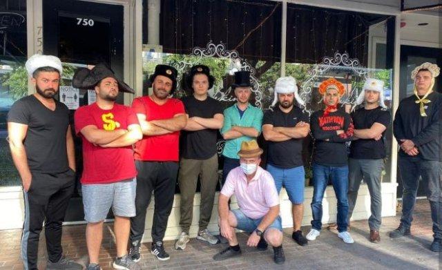 Русские с оружием защитили свой ресторан в Сан-Диего