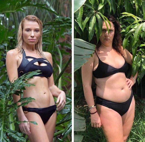 Австралийка, которая копирует моделей