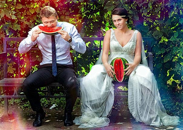 Свадебные фото, бессмысленные и беспощадные