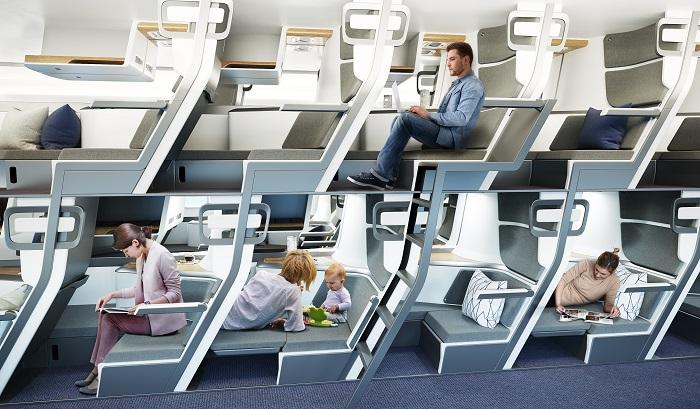 Концепт эконом-класса в самолетах, где можно выспаться