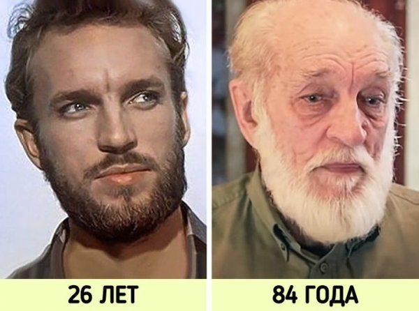 Наши актёры - тогда и сейчас