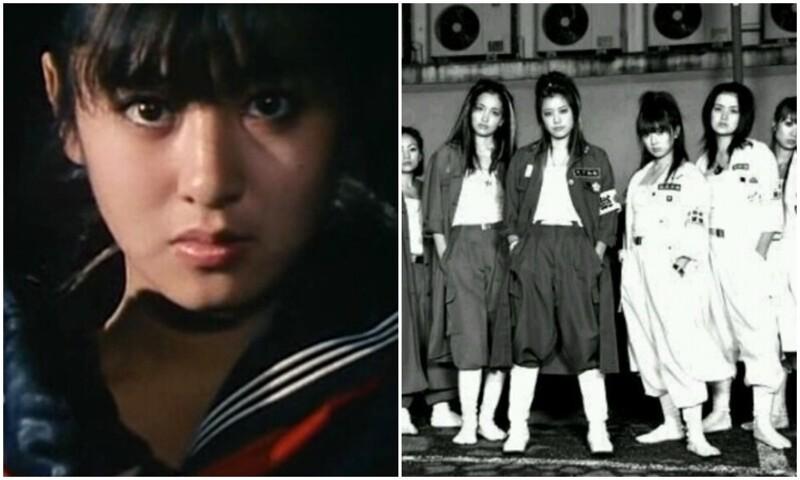 Сукэбан - девочки, которые были грозой Японии
