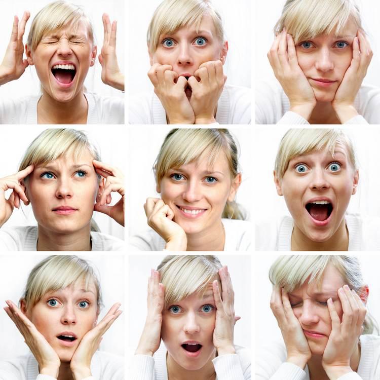 Эмоции в исполнении знаменитых актеров