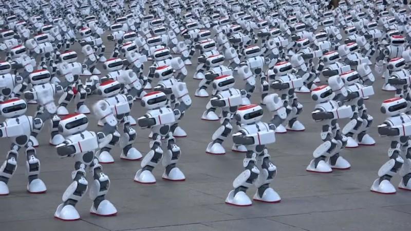 Роботы в Китае во время вируса